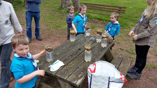 Woodland Beavers Science Experiments